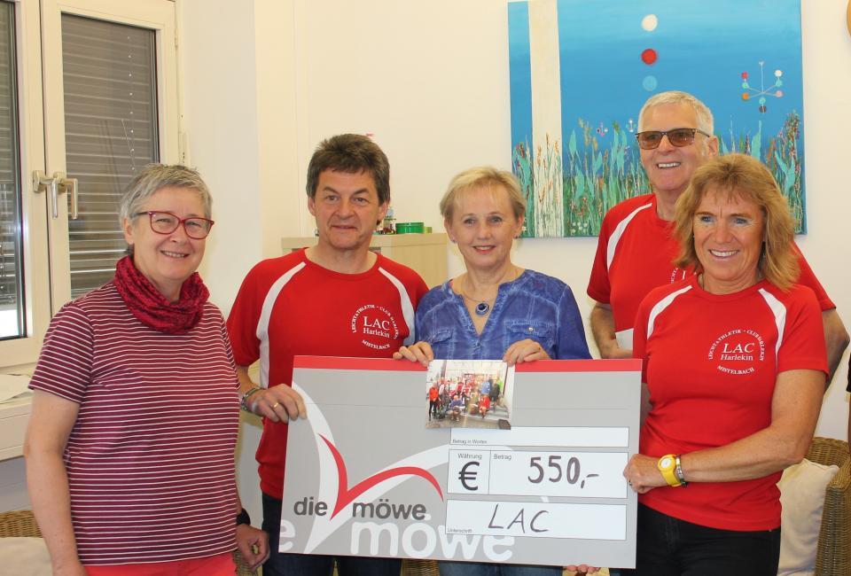 Charity-Lauf LAC Harlekin