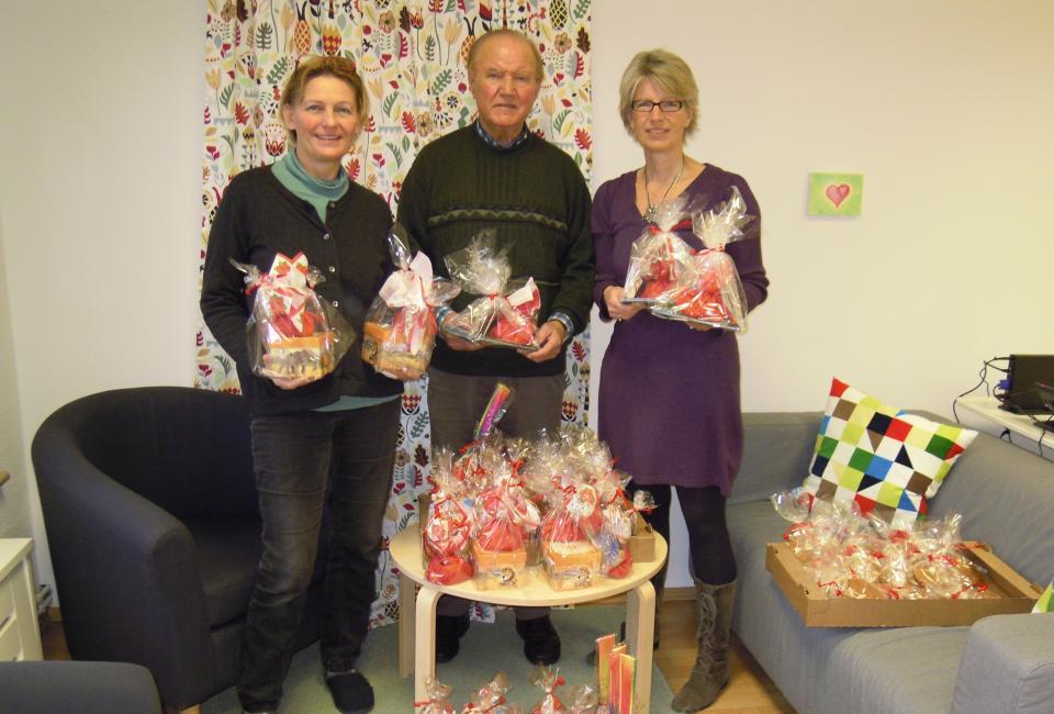 Geschenkübergabe Förderverein Neunkirchen
