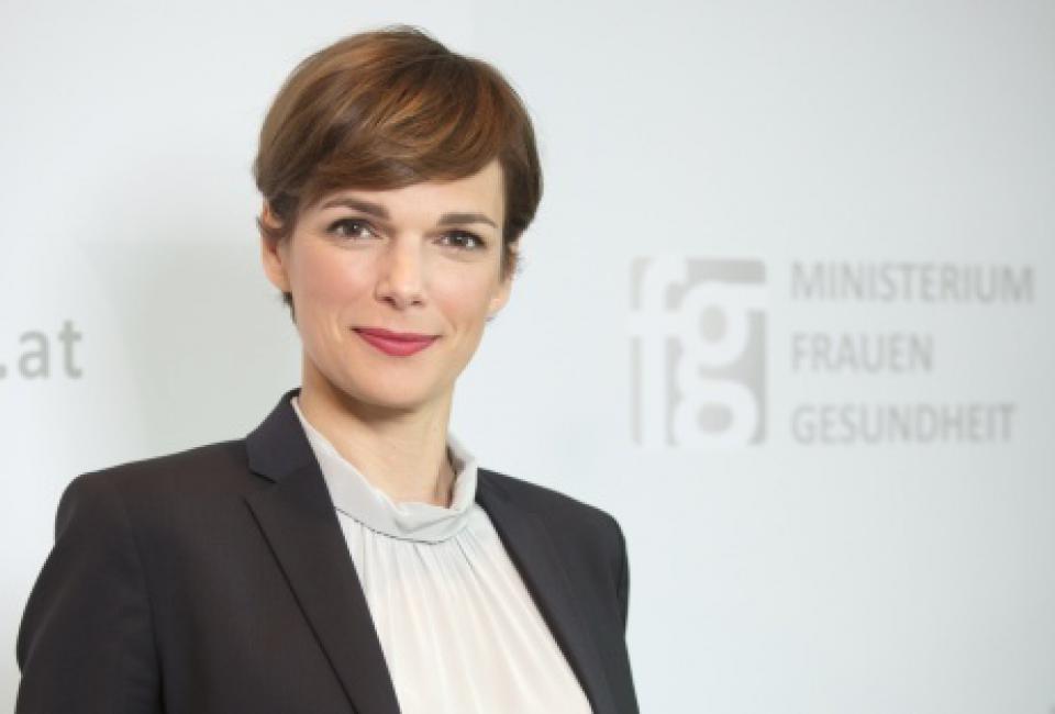 Portrait Dr. Pamela Rendi-Wagner